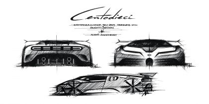 2020 Bugatti Centodieci 44