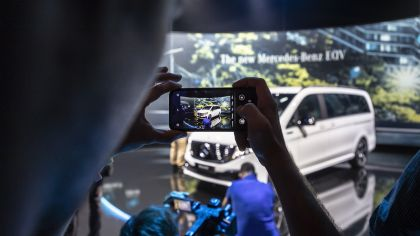 2020 Mercedes-Benz EQV 54