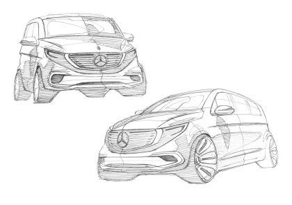 2020 Mercedes-Benz EQV 68