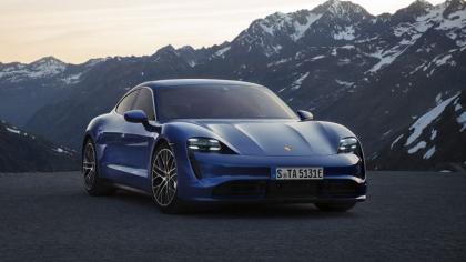 2020 Porsche Taycan turbo 4