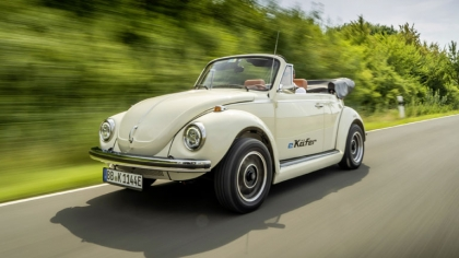 2019 Volkswagen e-Beetle concept 1