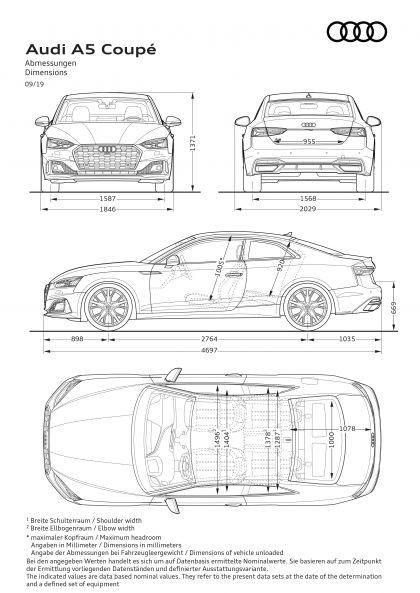 2020 Audi A5 coupé 36