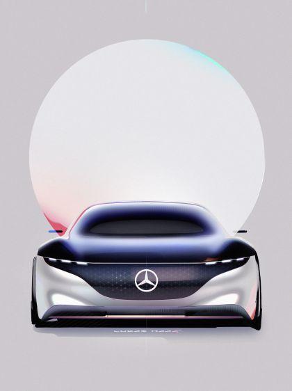 2019 Mercedes-Benz Vision EQS 49