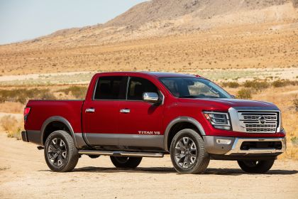 2020 Nissan Titan Platinum Reserve 4