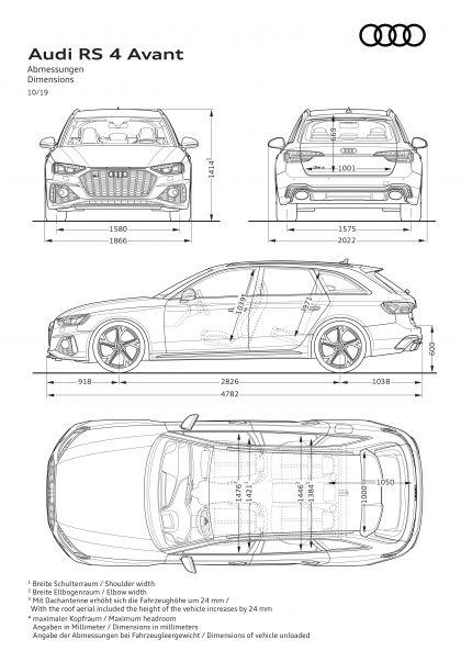 2020 Audi RS 4 Avant 61