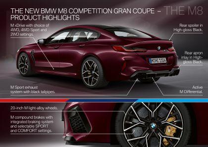 2020 BMW M8 ( F93 ) Competition Gran Coupé 126
