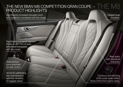 2020 BMW M8 ( F93 ) Competition Gran Coupé 128