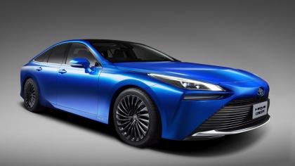2020 Toyota Mirai sedan concept 5