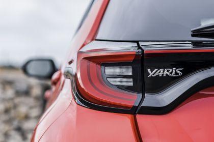 2020 Toyota Yaris hybrid 136