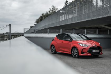 2020 Toyota Yaris hybrid 158