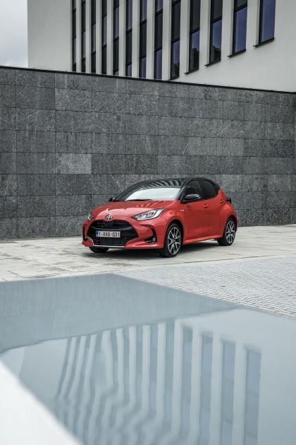 2020 Toyota Yaris hybrid 161