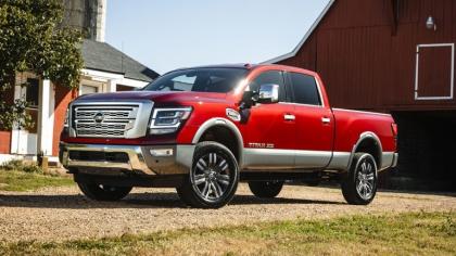 2020 Nissan Titan XD Platinum Reserve 8