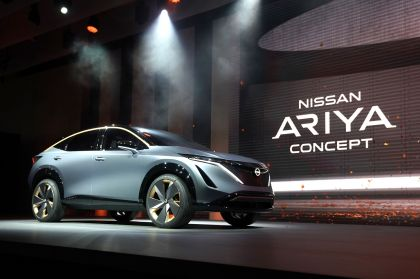 2019 Nissan Ariya concept 39