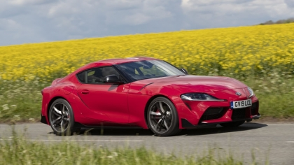 2019 Toyota GR Supra - UK version 2
