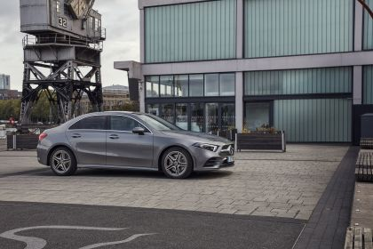 2019 Mercedes-Benz A 250 sedan - UK version 4