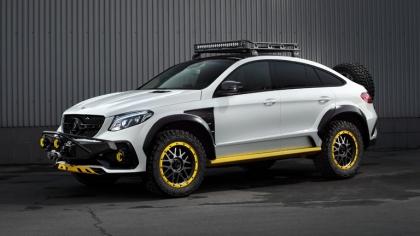 2019 Mercedes-Benz GLE coupé 4x4 Inferno by TopCar 6