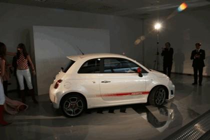 2008 Fiat 500 Abarth unveiling 7