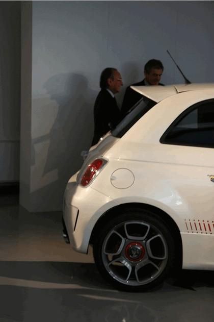 2008 Fiat 500 Abarth unveiling 8