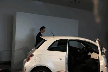 2008 Fiat 500 Abarth unveiling 17