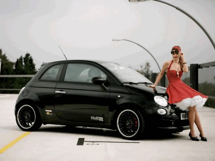 2008 Fiat 500 by H&R Springs 3