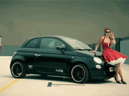 2008 Fiat 500 by H&R Springs 4
