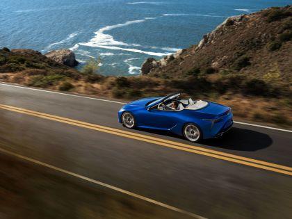 2021 Lexus LC 500 convertible 5