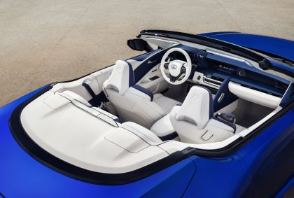2021 Lexus LC 500 convertible 10