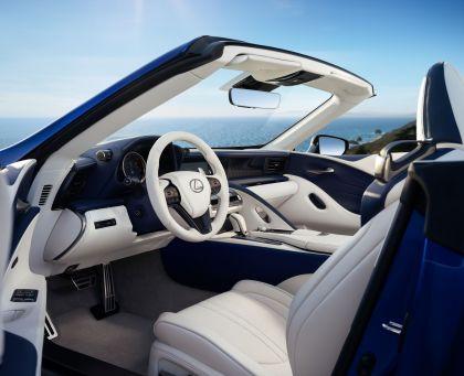 2021 Lexus LC 500 convertible 12