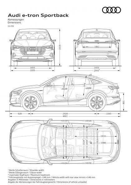 2020 Audi e-Tron Sportback 125