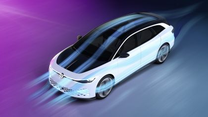 2019 Volkswagen ID. Space Vizzion concept 7