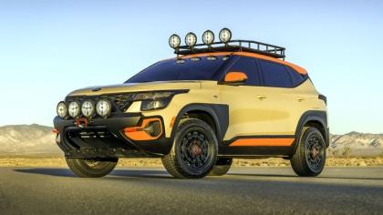 2019 Kia Seltos X-Line Trail Attack concept 1