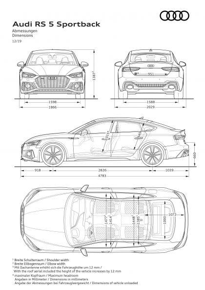 2020 Audi RS 5 sportback 34
