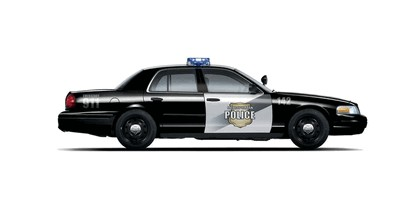 2008 Ford Crown Victoria Flexible Fuel Police Vehicle 2