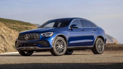 2020 Mercedes-AMG GLC 43 4Matic coupé - USA version 3