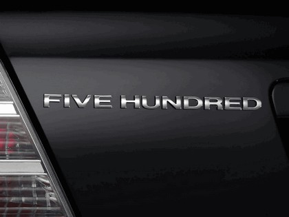 2008 Ford Five Hundred SEL 11