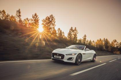 2021 Jaguar F-Type convertible P450 2