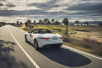 2021 Jaguar F-Type convertible P450 19
