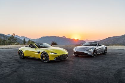 2021 Aston Martin Vantage roadster 338