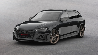 2020 Audi RS 4 Avant Bronze edition - UK version 4