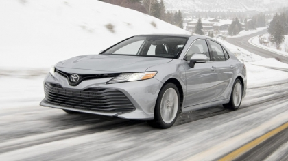 2021 Toyota Camry XLE AWD 7