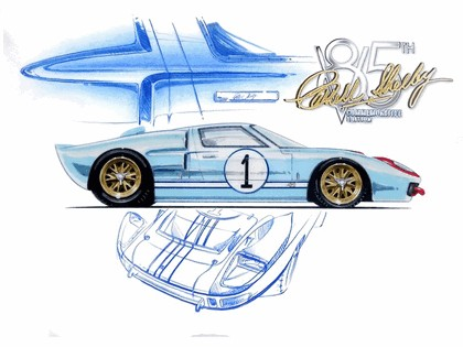 2008 Ford GT40 Shelby 85th commemorative 34