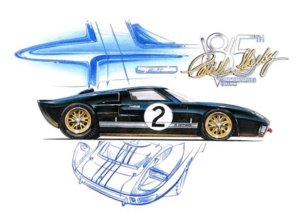 2008 Ford GT40 Shelby 85th commemorative 35