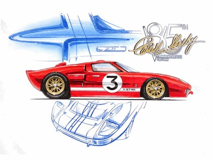 2008 Ford GT40 Shelby 85th commemorative 36