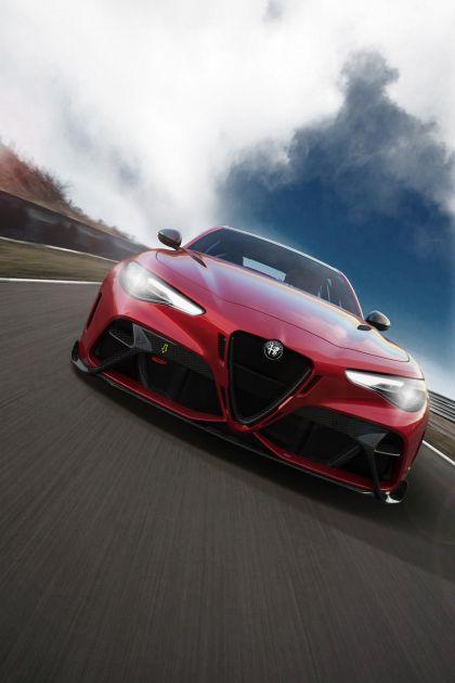 2020 Alfa Romeo Giulia GTAm 17