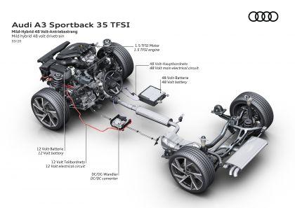 2020 Audi A3 sportback 180