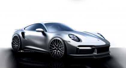 2020 Porsche 911 ( 992 ) Turbo S 175