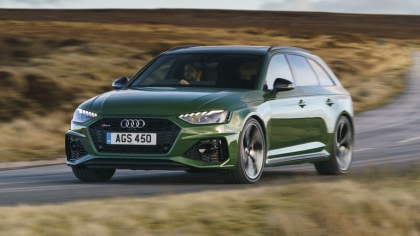 2020 Audi RS 4 Avant - UK version 1