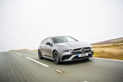 2020 Mercedes-AMG CLA 35 4Matic Shooting Brake - UK version 14