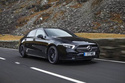2020 Mercedes-AMG A 35 4Matic saloon - UK version 1