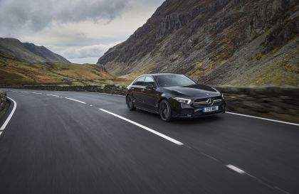 2020 Mercedes-AMG A 35 4Matic saloon - UK version 2